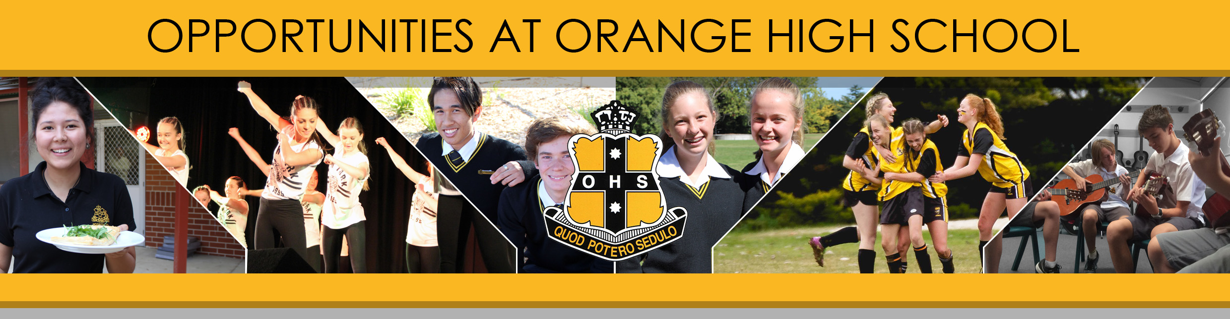Opportunities at Orange High School Heading