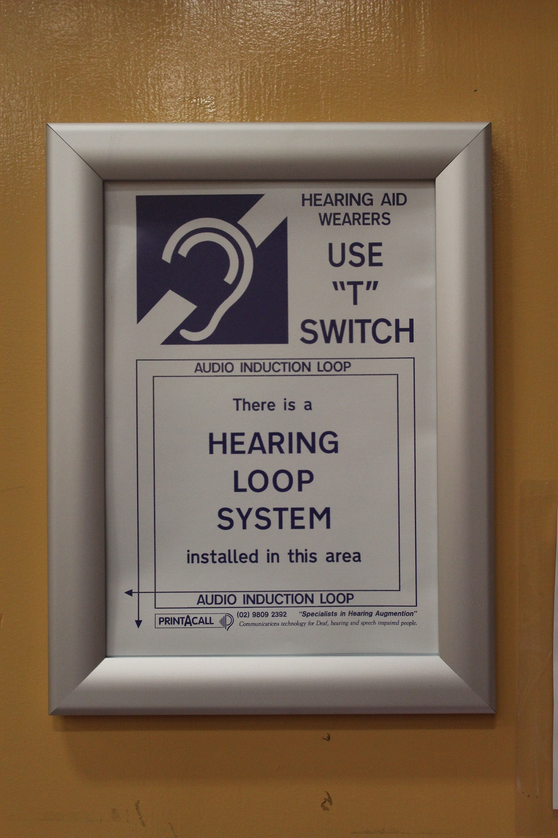 T Switch Hearing Loop
